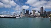 Auckland od strony mariny