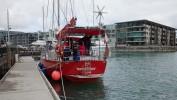Przy kei w Auckland