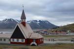 Kościóek w Longyearbyen
