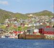 Widok na osiedle w Qaqortoq