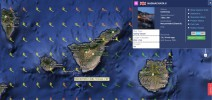 Sailing from San Sebastian, Gomera