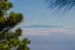 Teneryfa; wulkan Teide, widok z La Plama